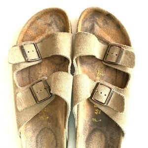 BIRKENSTOCKS Arizona Suede Leather 46
